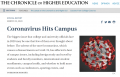 Cover image of the Coronavirus Hits Campus resource