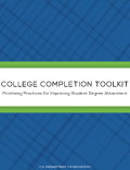 Thumbnail cover image - College Completion Toolkit