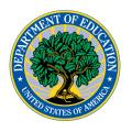 Logo for the U.S. Department of Education