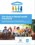 Thumbnail cover - Equity in Mental Health Framework