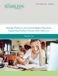 Thumbnail cover - Helping Women to Succeed in Higher Education: Supporting Student-Parents with Child Care