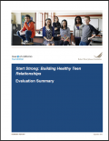 Report cover - Start Strong