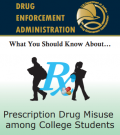 Cover image of What You Should Know About Prescription Drug Misuse Among College Students resource