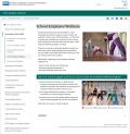 School staff partaking in wellness programs