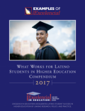 Thumbnail cover image - 2017 What Works for Latino Students in Higher Education