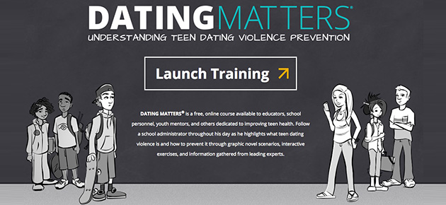 Get Training on Preventing Teen Dating Violence