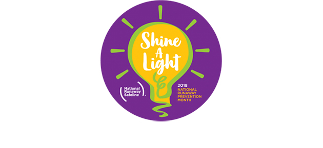 Shine a Light at your School on National Runaway Prevention Month
