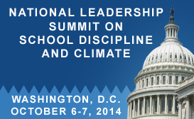 National Leadership Summit on School Discipline and Climate Sidebar Banner