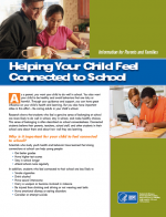 Helping Your Child Feel Connected to School: Information for Parents and Families cover page