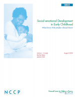 Social-emotional Development in Early Childhood: What Every Policymaker Should Know cover page