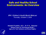 Safe and Healthy School Environments: an Overview video still