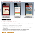 3 Cell phones on cover - Free Mobile Resources to Support Behavioral Health (link is external)