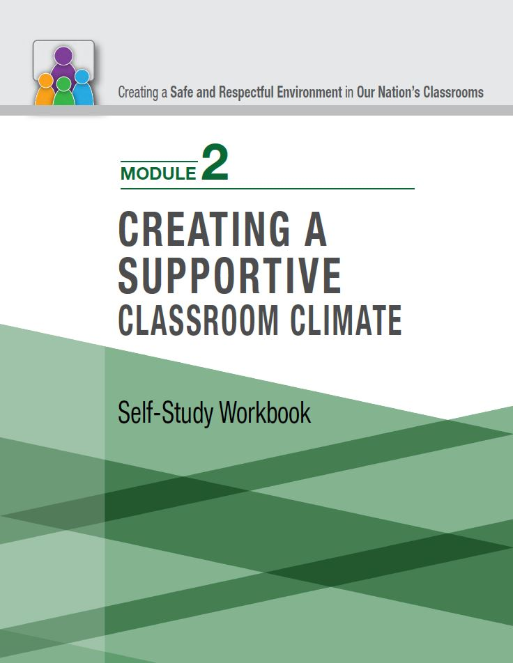 cover page of the classroom bullying self-study module 2