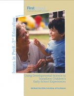 Using Developmental Science to Transform Children's Early School Experiences report cover
