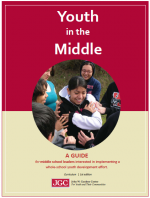 Building Supportive Relationships As A Foundation for Learning, from Youth in the Middle cover page